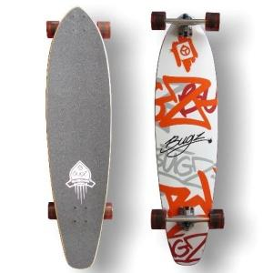 Bugz Pintail 102 longboard concave