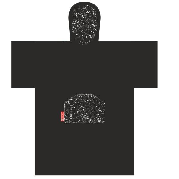 Szörf poncho, átöltözéshez frottír Madness Black Speckle uni méret