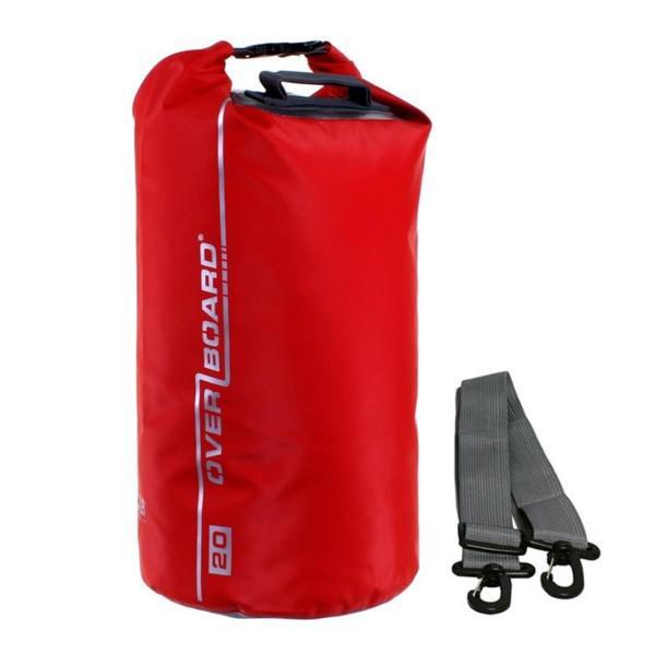 Vízálló táska Overboard Dry Tube 20l piros