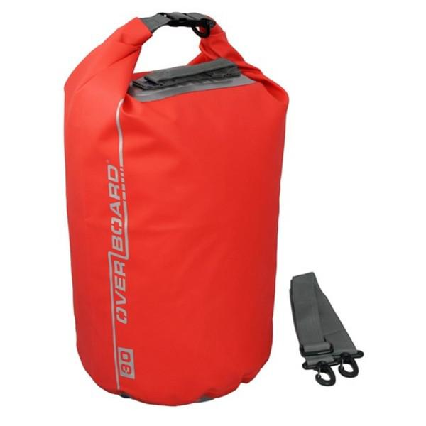 Vízálló táska Overboard Dry Tube 30l piros