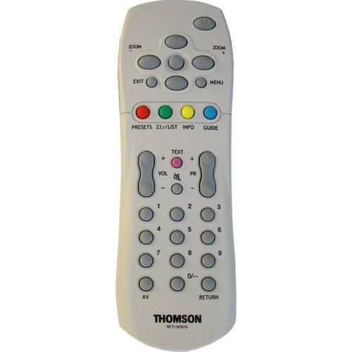 THOMSON RCT-116TA1GRCT116TA1G gyári távirányító