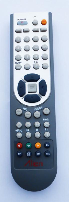 VIDEOTON TRC-022 helyettesítő távirányító