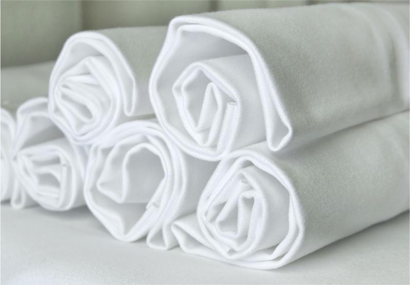 Bóba lepedők fehér 95x150 cm