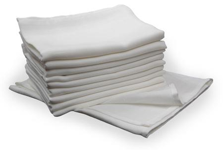 Fehér pelenka 70x70 cm    10db/csomag