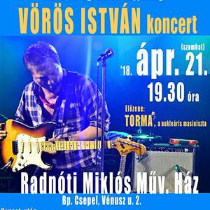 KONCERTJEGY Radnóti M.Műv.Ház '18.04.21.
