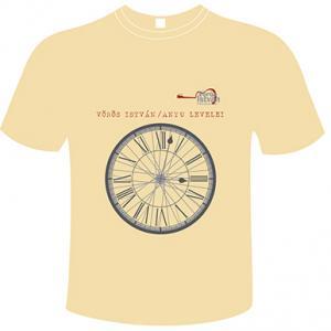Sárga kereknyakú póló