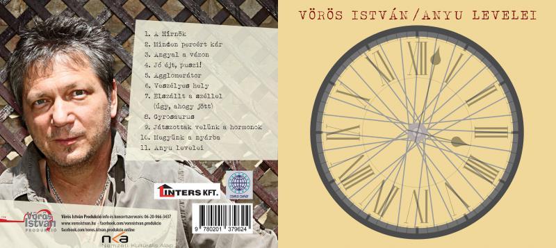 BAKELIT (Vinyl) nagylemez - ANYU LEVELEI - Előrendelés