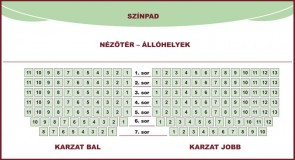 KARZAT BAL OLDAL 2.sor . 5.szék