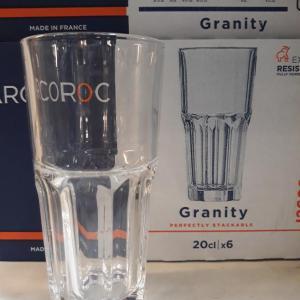 Arcoroc, Luminarc vizes és üdítős pohár