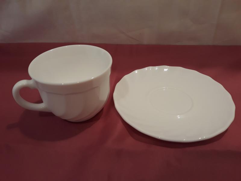 1db Luminarc Opal Kávés csésze, 16 cl, (1db +1db alátét)