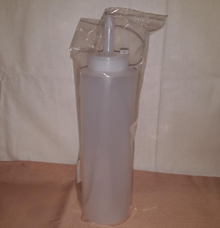 Adagoló flakon, PE, fehér 360 ml, 197017