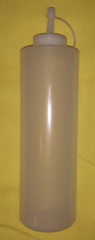 Adagoló flakon, PE, fehér 720ml, 41526-B3