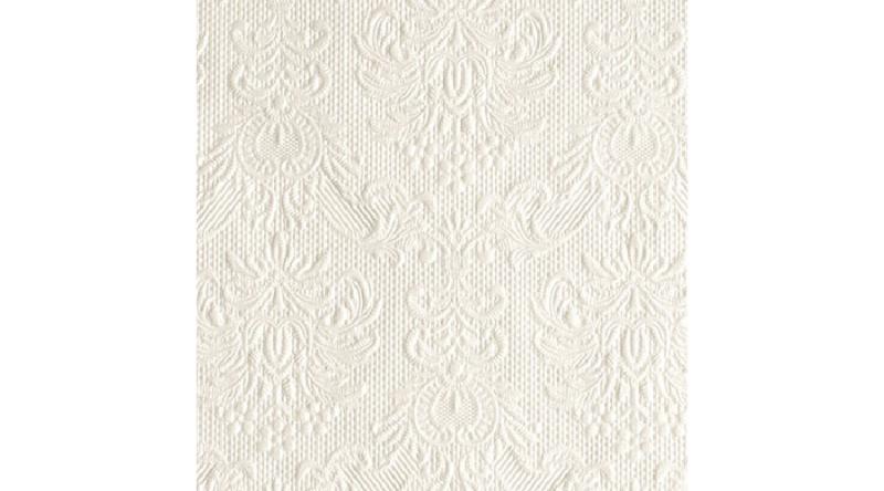 AMB.12505507 Elegance pearl dombornyomott papírszalvéta 25x25cm,15db-os
