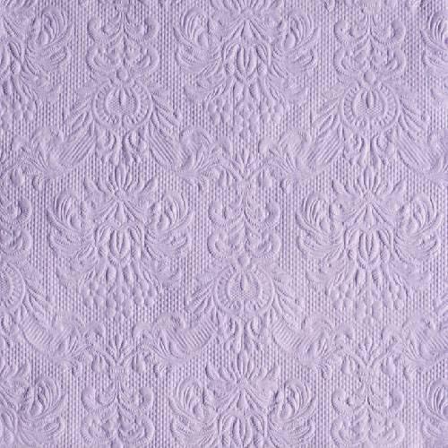 76dbedd96d Ambiente 14004929 Elegance lavender papírszalvéta, nagy, 40x40cm,15db-os  szalvéta