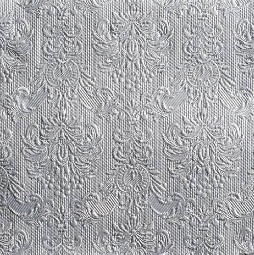 826ed875c7 Ambiente 14004938 Elegance silver papírszalvéta, nagy, 40x40cm,15db-os