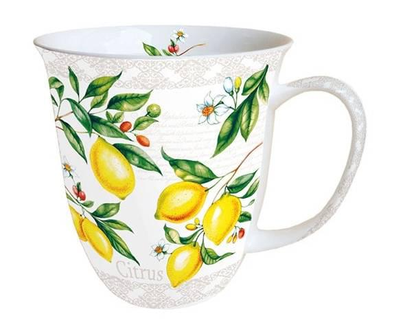 AMBIENTE 18411520 Citrus porcelán bögre 0,4l