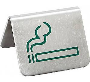 APS Asztali tábla, Smoking, rozsdamentes, 2 db, 438060