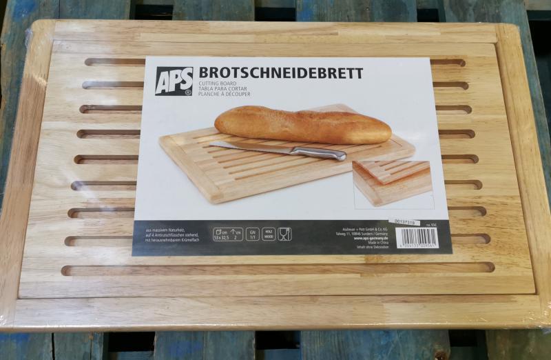 APS kenyérvágó deszka+morzsatál, 53X32,5 cm, 438137