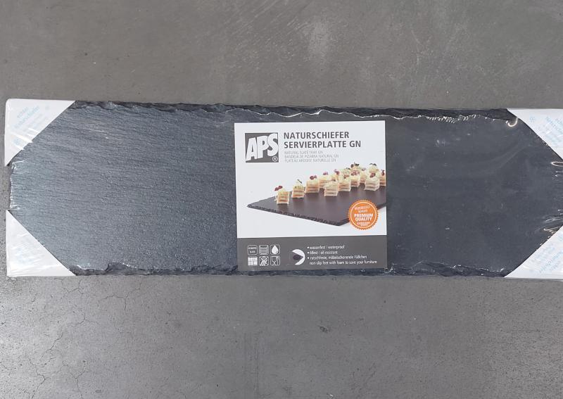 APS pala alátét GN2/4, 53x16,2cm fekete