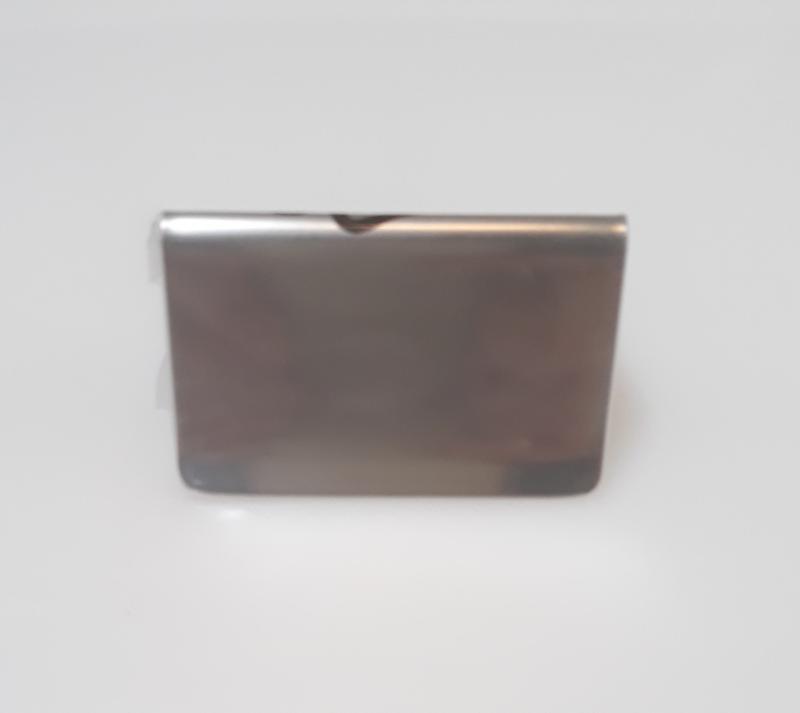 APS rozsdamentes asztali tábla, 5,5X5X3,5 cm, 438058