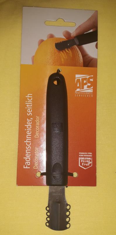 APS rozsdamentes narancscsíkozó, 14,5 cm, 438149
