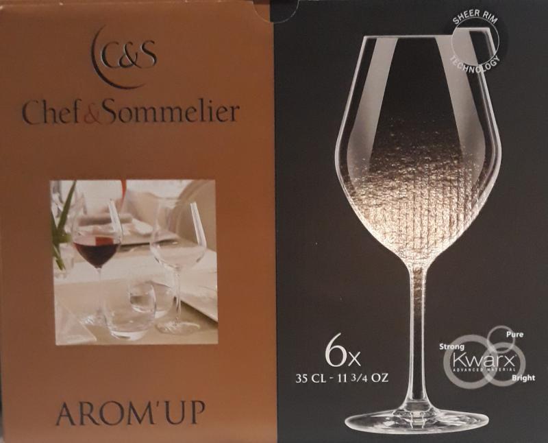 Arcoroc Chef&Sommelier; Arom'Up Fruity talpas pohár, 35 cl, 6 db, 508076