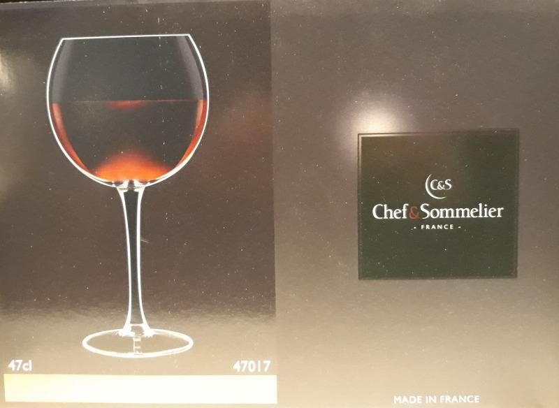ARCoroc Chef&Sommelier; boros kehely (ballon), 47 cl, 6 db, 500348