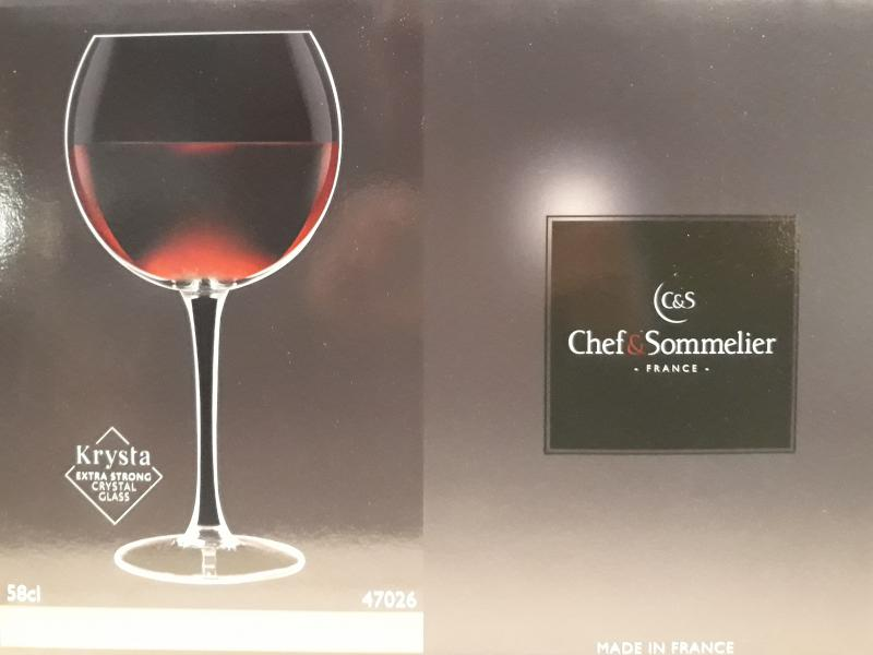 ARCoroc Chef&Sommelier; boros kehely (ballon), 58 cl, 6 db, 500350
