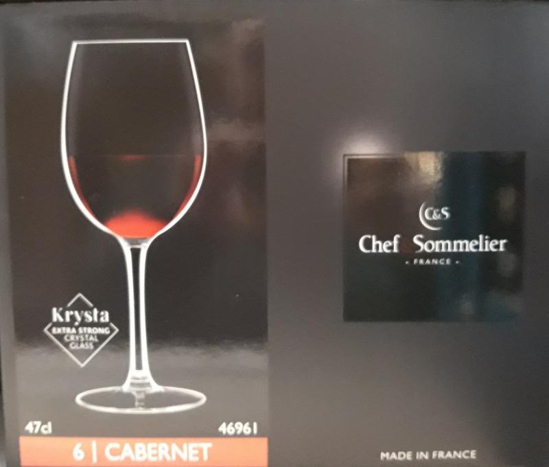ARCoroc Chef&Sommelier; Cabernet boros kehely (tulip), 47 cl,