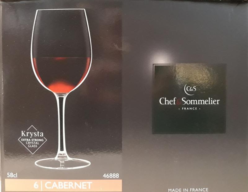 ARCoroc Chef&Sommelier; Cabernet boros pohár (tulip), 58 cl, 501043