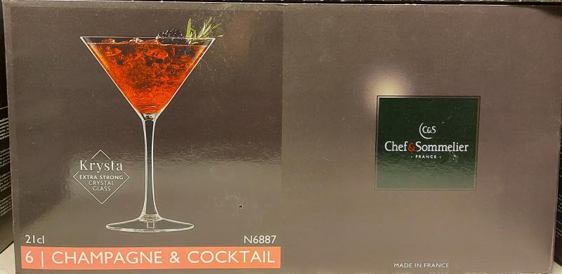 ARCoroc Chef&Sommelier; Cabernet koktélos kehely, 21 cl, 6 db, 508138