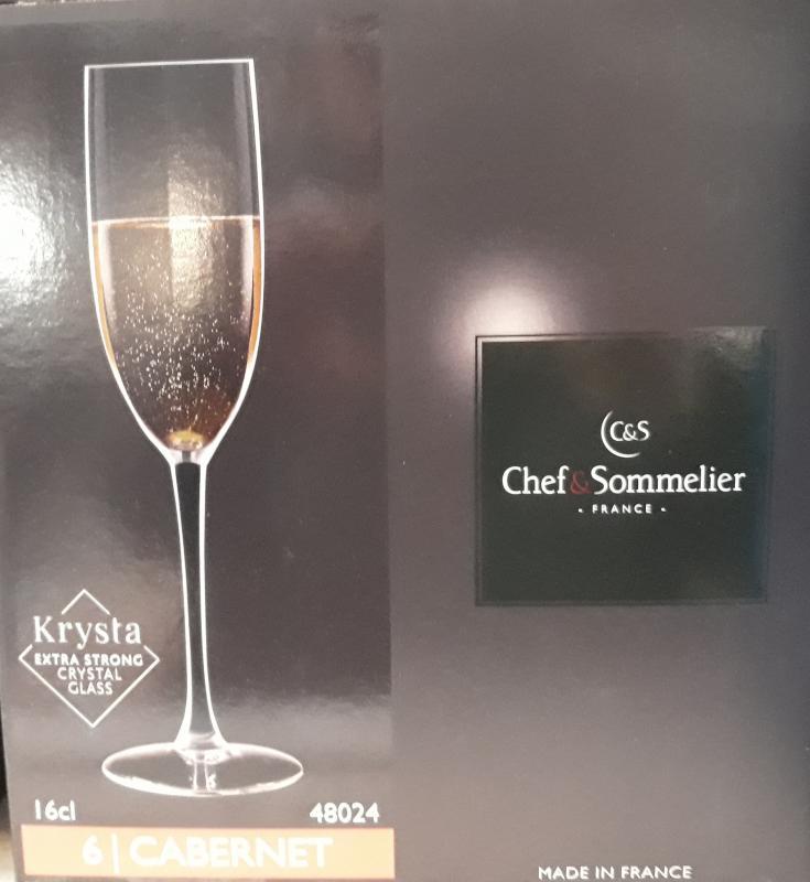 ARCoroc Chef&Sommelier; Cabernet pezsgős pohár, 16 cl, 6 db