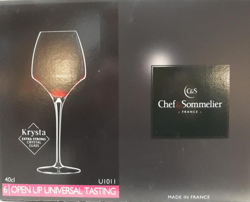 ARCoroc Chef&Sommelier; Open up Universal tasting boros pohár, 40 cl, 6 db,