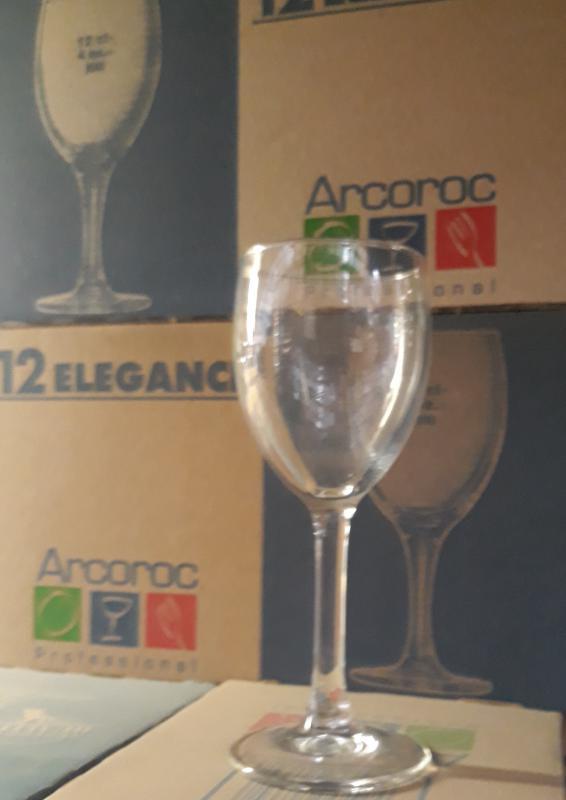 Arcoroc Elegance talpas boros pohár, 12 cl, 12 db, 500554