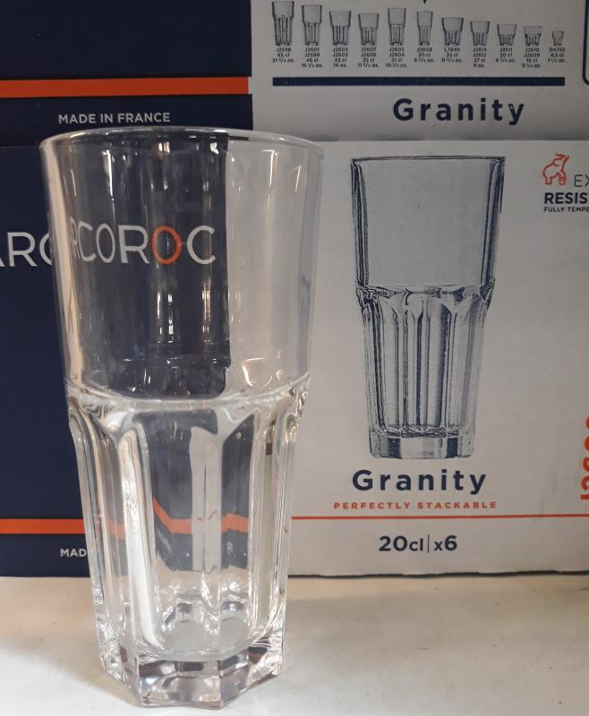 Arcoroc Granity pohár (magas), 20 cl, 501042