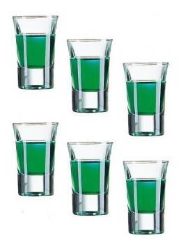 Arcoroc Hot Shot pálinkás pohár, 3,4 cl, 6 db, 502057