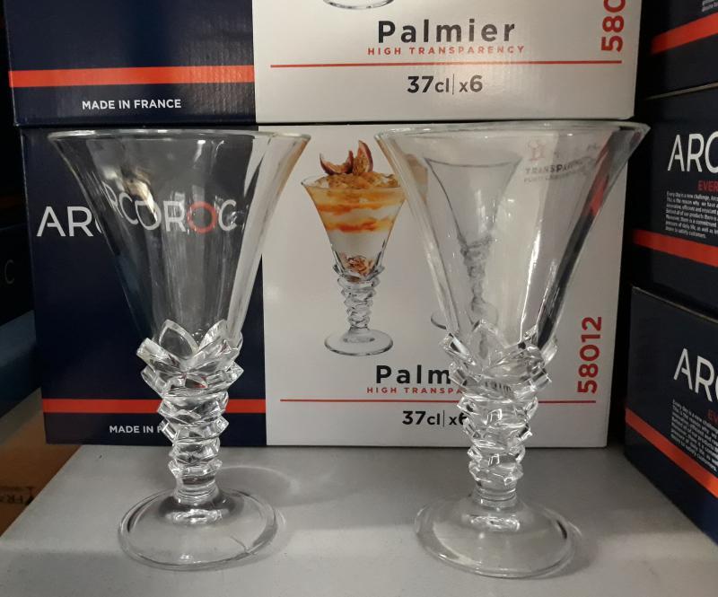 Arcoroc Palmier trans kehely, 37 cl, 1db, 502136