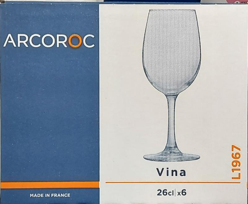 Arcoroc Vina boros pohár, 26 cl, 502495