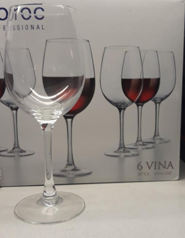 Arcoroc Vina vörösboros pohár, 48 cl, 6 db, 502936