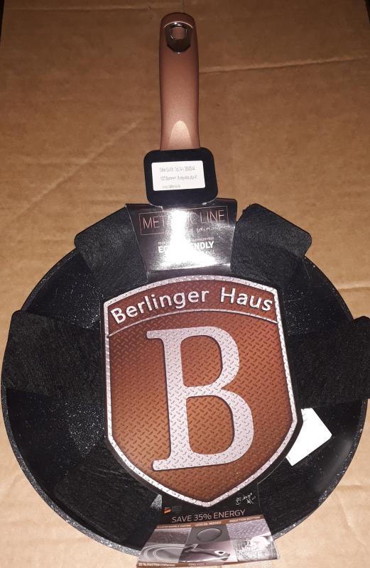 Berlinger Haus Rose Gold bev. szeletsütő, 24 cm, indukciós, 345295
