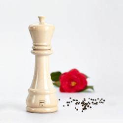 Bisetti Icons fa fűszerdaráló, fehér király (sakk bábu), 33712