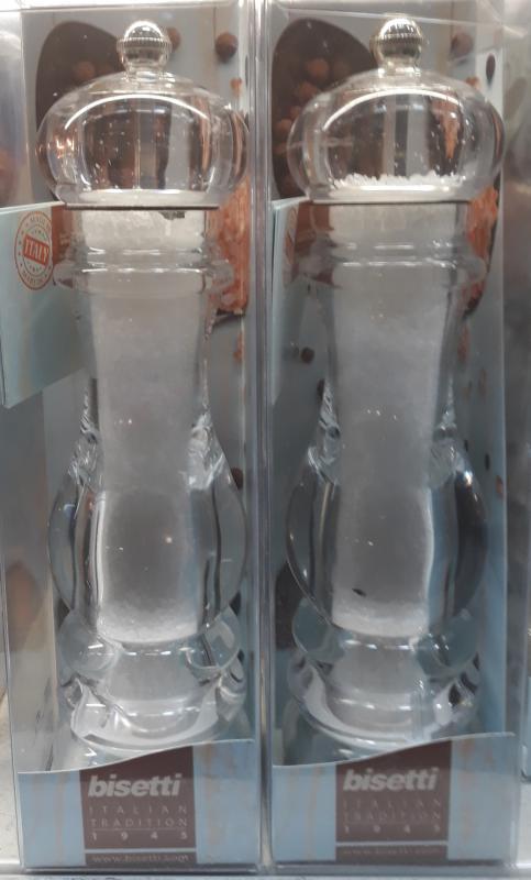 Bisetti műanyag sódaráló, 22 cm, 127011