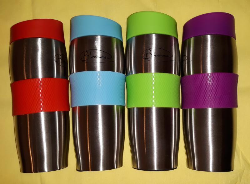 BLAUMANN thermo pohár vákuumos tetővel, 0,38 l, 345087
