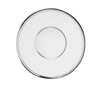 Borgonovo Indro átlátszó tányér 15 cm, (csészealj) 186036