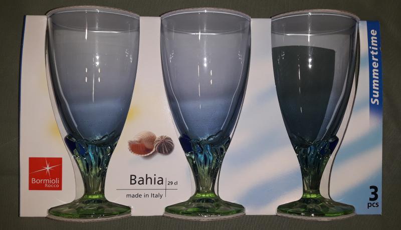 Bormioli Rocco Bahia talpas fagylaltos pohár, 29 cl, 3 db, 119313