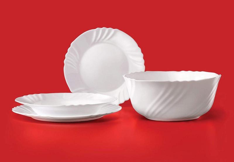 BORMIOLI ROCCO EBRO étkészlet, üveg, 19 részes, 202001