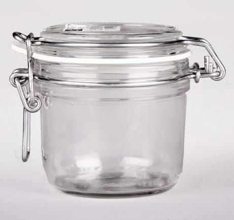 Bormioli Rocco FIDO csatos befőttes üveg, 0,125 liter, 119782