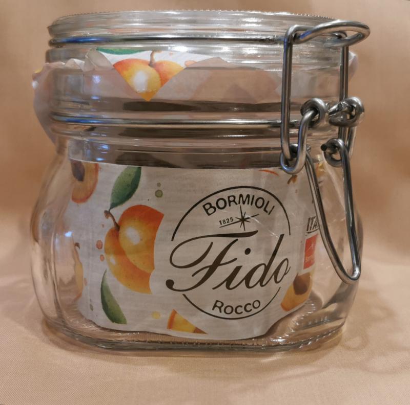 Bormioli Rocco FIDO csatos befőttes üveg, 0,5 liter, 119504