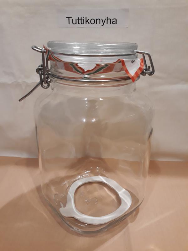 Bormioli Rocco FIDO csatos befőttes üveg, 2 liter, 119888