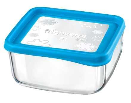 Bormioli Rocco Frigoverre Fun Azzurro szögletes doboz, 19x19 cm, 119797